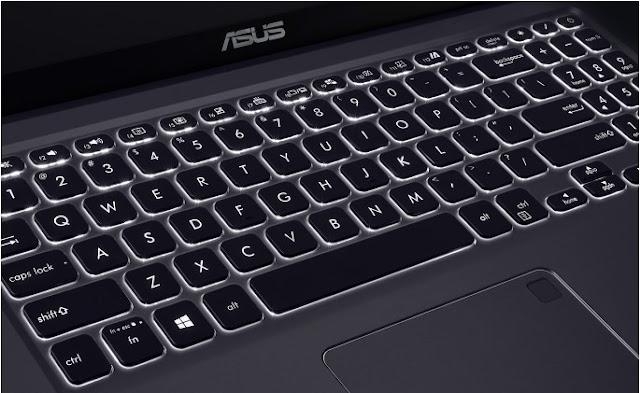 ASUS VivoBook 15 A516 Sajikan Keyboard Cantik Plus Fingerprint Sensor