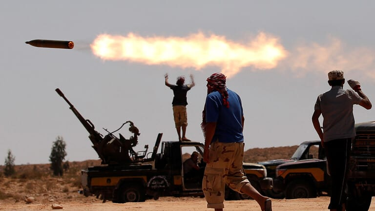 الجيش-الليبي-يضع-إحداثيات-لحظر-جوي-أمام-الخط-الأحمر