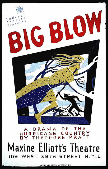 Theodore Pratt poster 1939, Big Blow