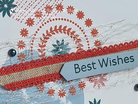 Circle Celebrations  Best Wishes Stampin'Up! Sailing Stamper Satomi Wellard