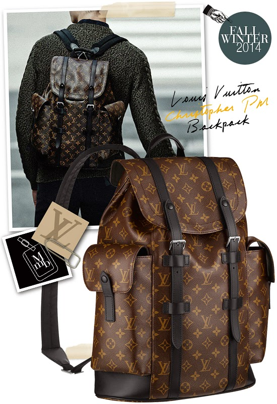 17b74834de66 myMANybags  Louis Vuitton Christopher PM Backpack