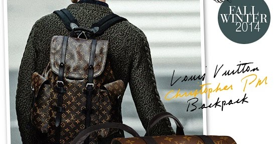 78bba188a72 myMANybags: Louis Vuitton Christopher PM Backpack