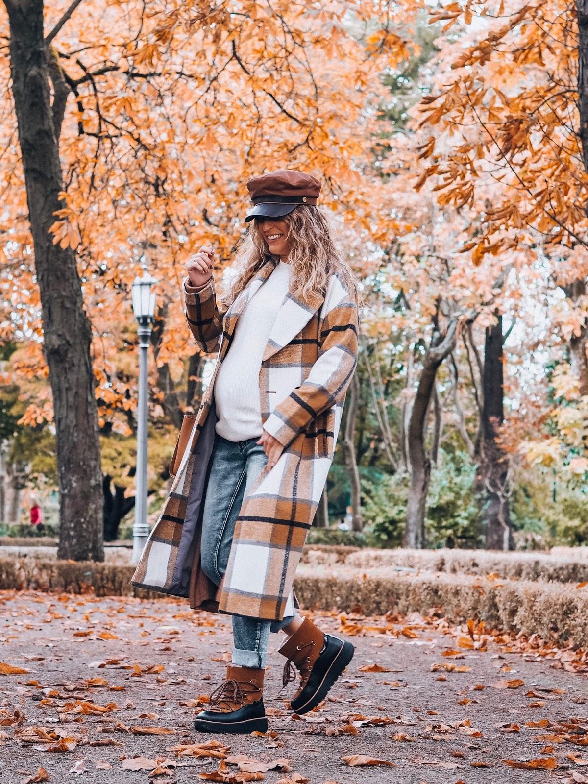 look embarazada otoño 2019