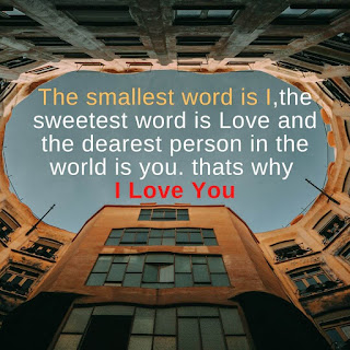 i Love you shayari in English