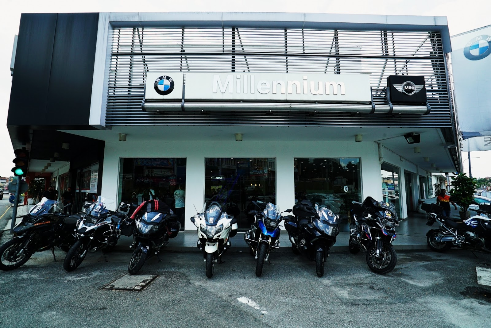 Motoring Malaysia Motorcycles Millennium Welt Opens New Bmw The Top Line Of Bikes Motorrad Via Their Authorised Dealers Had Recently Officially Opened First Ever Showroom In Seremban