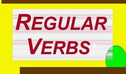 Regular Verbs dan Contohnya