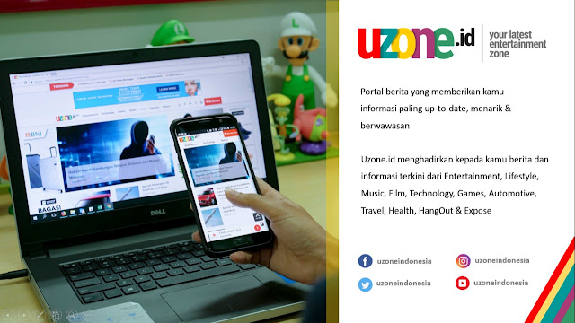 Uzone.id Portal Berita Entertainment dan Lifestyle untuk Milenial