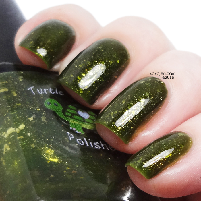 xoxoJen's swatch of Turtle Tootsie Polish A Hero In His Own Mind