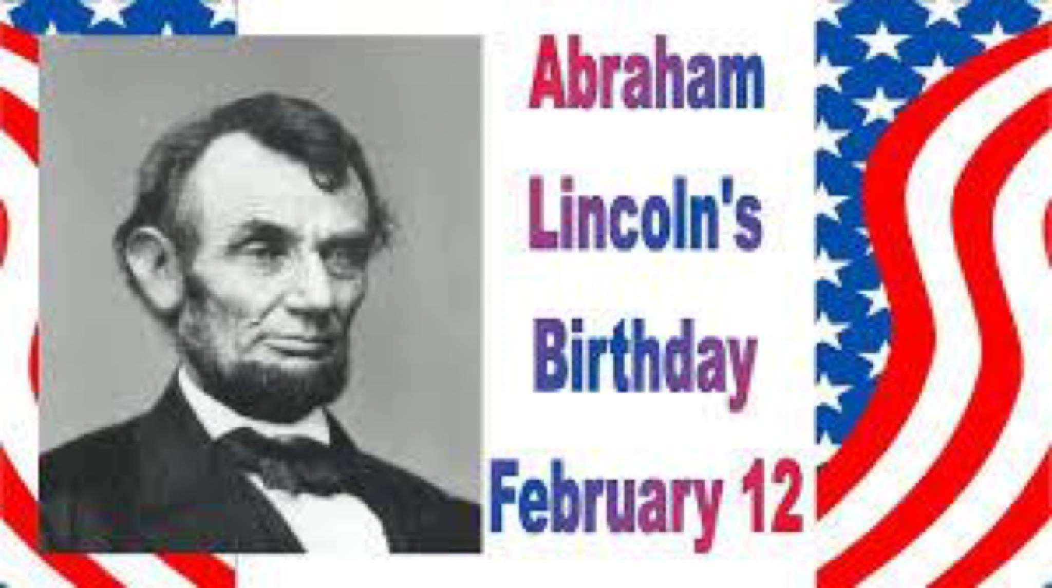 Abraham Lincoln's Birthday Wishes For Facebook