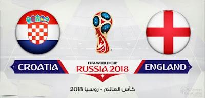موعد عرض ومشاهدة مباراة انجلترا وكرواتيا والقنوات الناقلة لها والتفاصيل الكاملة للمباراة