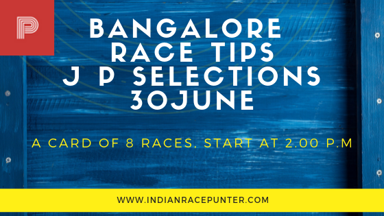 Bangalore Jackpot Selections 30 June