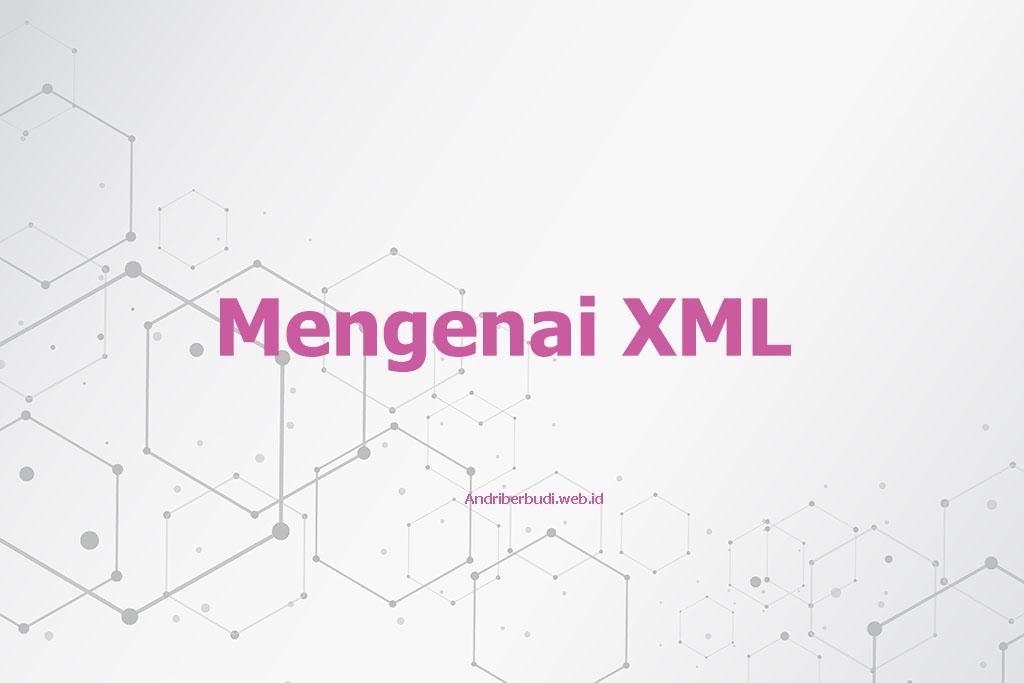 Pengertian singkat mengenai XML