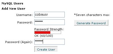 Cara Membuat Database MySQL Menggunakan Cpanel 4