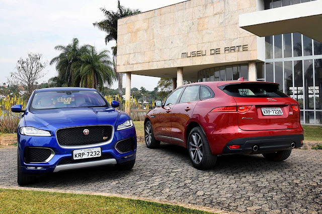 Jaguar F-Pace Brasil