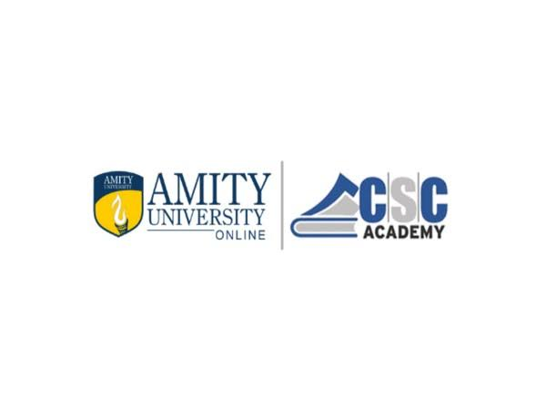 Amity University and CSC collaborate to provide higher education to rural students.