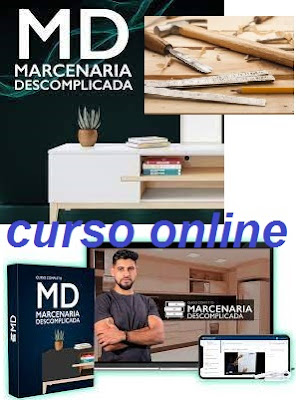 Curso Online de Marcenaria Descomplicada - Com Certificação