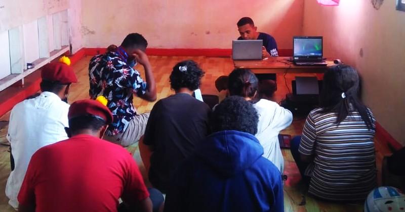 PMKRI Langgung Melaksanakan Pelatihan Kesekretariatan Berbasis Teknologi