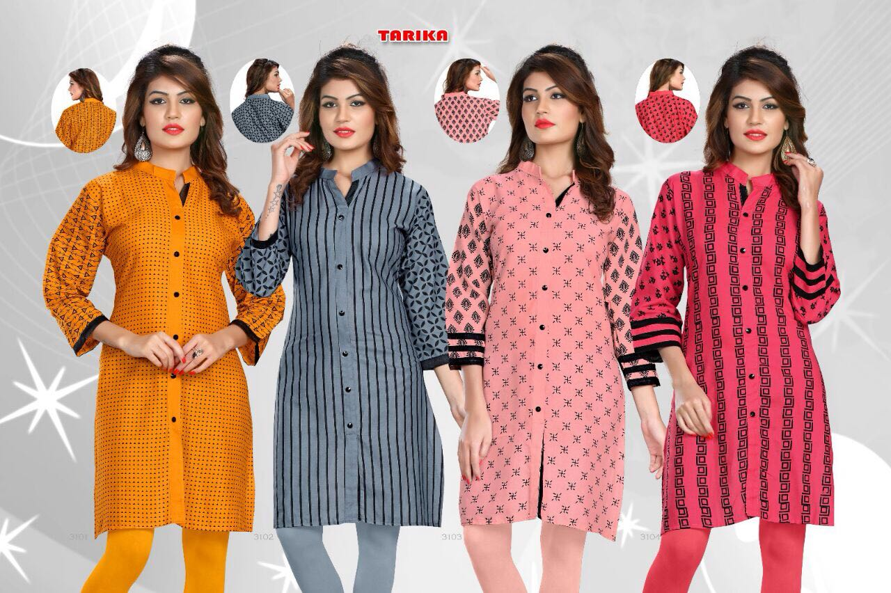 Tarika – New Arrival Cotton Kurti
