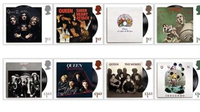 QUEEN: Η Royal Mail τους τιμάει με σειρά γραμματοσήμων