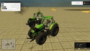 Deutz Fahr TTV 7250 tractors pack (version 4.1)
