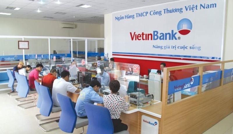 Phòng giao dịch tại VietinBank