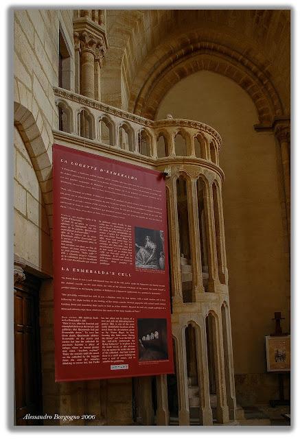Notre Dame de Paris - La logette d'Esmeralda