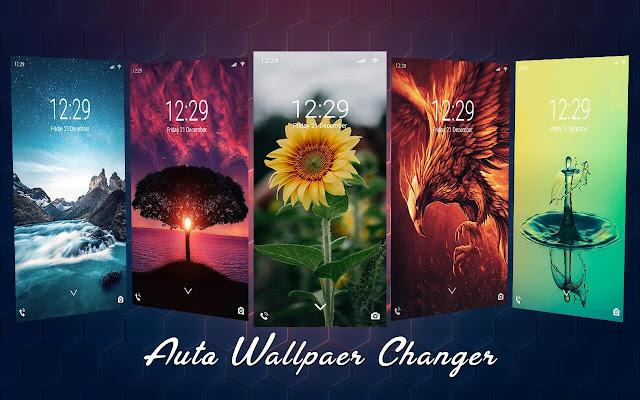 Auto Wallpaper Changer - Background Changer v2.1 (Pro) Apk