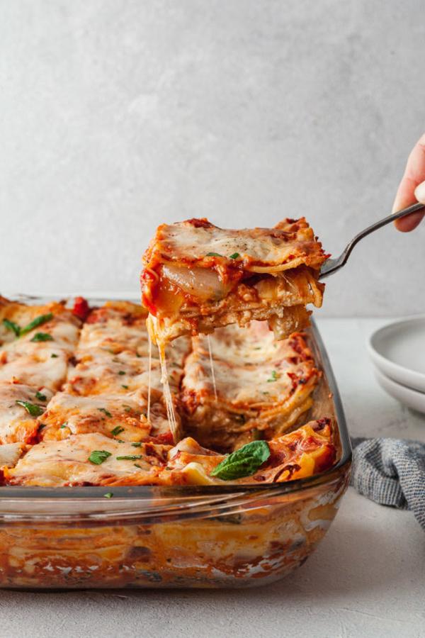 Roasted Vegetable Lasagna Recipes