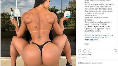 Gracianne Barbosa abusa da ousadia no instagram e mostra demais