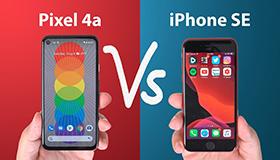 iPhone SE ou Pixel 4a? Lequel choisir?
