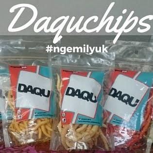 Daquchips,cemilan keju kekinian