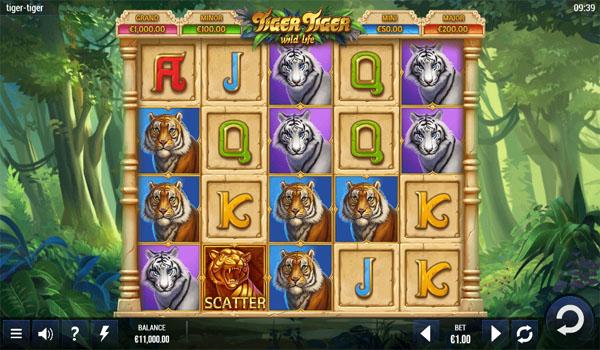 Main Gratis Slot Indonesia - Tiger Tiger Yggdrasil