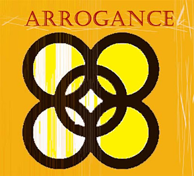 Secret meaning is arrogance.