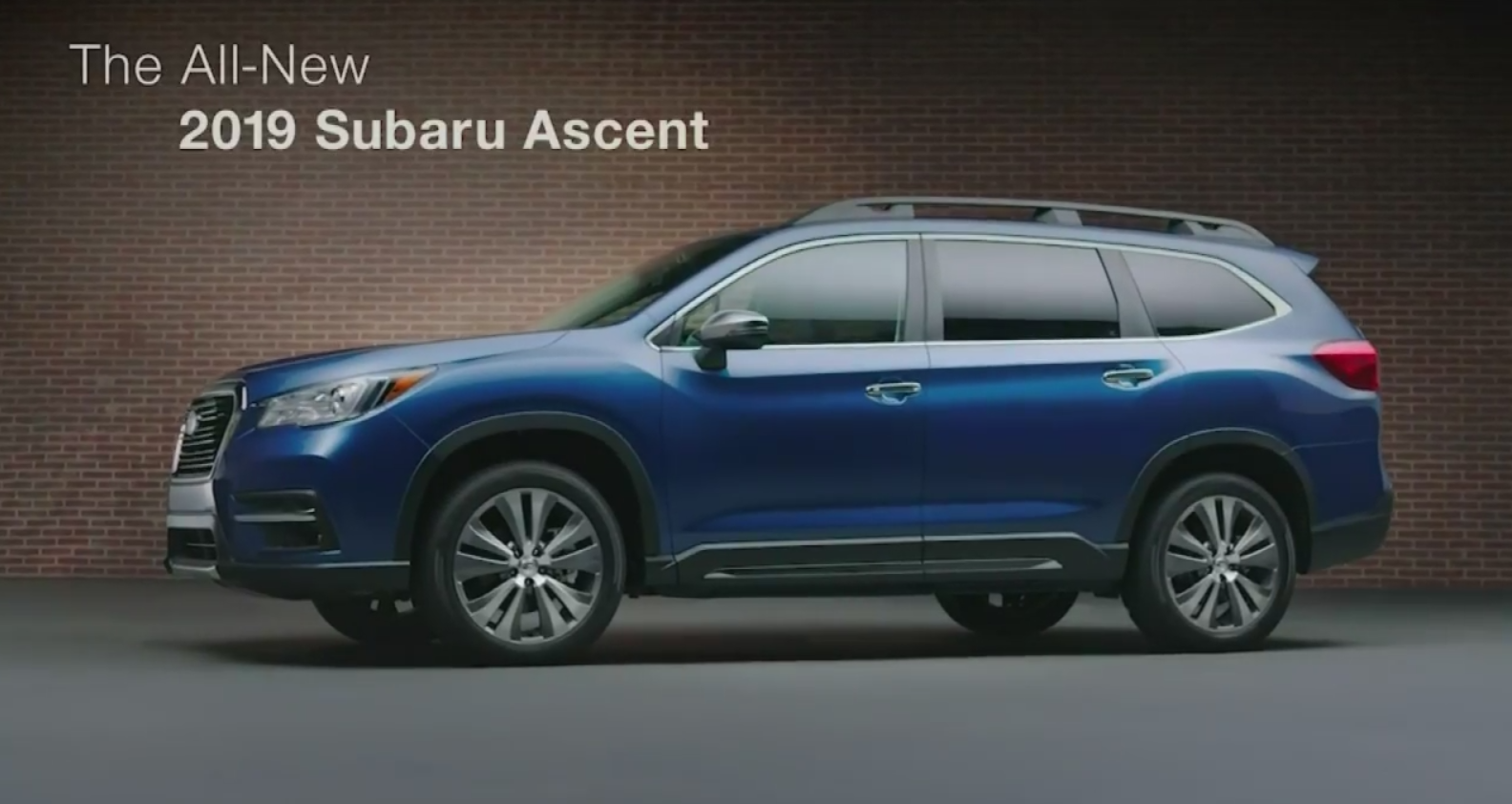 All We'll Drive: 2019 Subaru Ascent Details