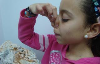 propriedades raras nos minerais: o odor