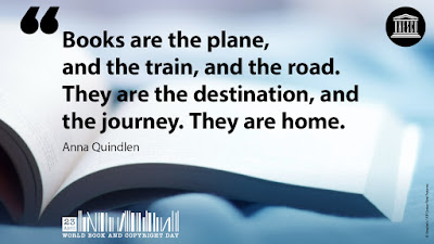 Quote: Books are the plane, and the train, and the road. They are the destination and the journey. They are home. by Anna Quindlan