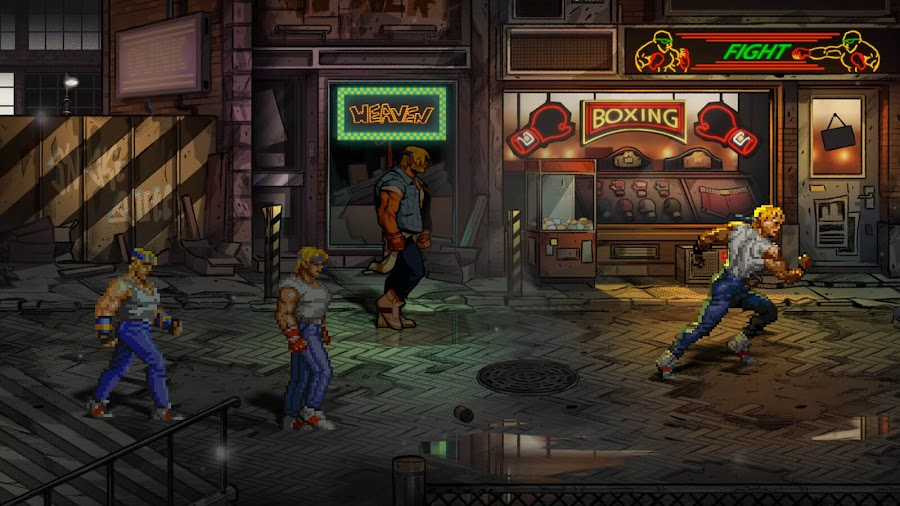 streets of rage 4 release pc steam ps4 switch xb1 classic side-scrolling beat 'em up axel stone blaze fielding retro characters dotemu guard crush games lizardcube sega