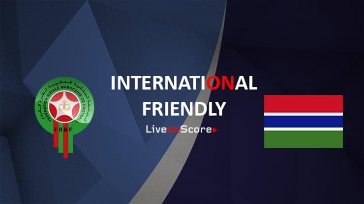 مشاهدة مباراة المغرب و غامبيا 12-06-2019 ودية