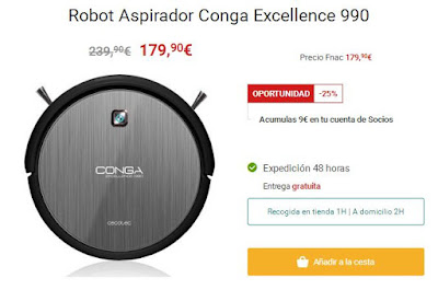 Conga Excellence 990 Fnac
