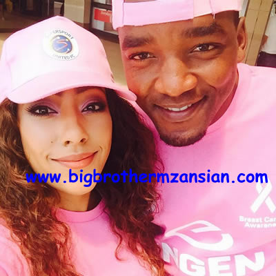 Mbali Nkosi Breast Cancer Awareness Campaign Super Sport United FC