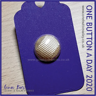 Day 234 : The Capro - One Button a Day 2020 by Gina Barrett