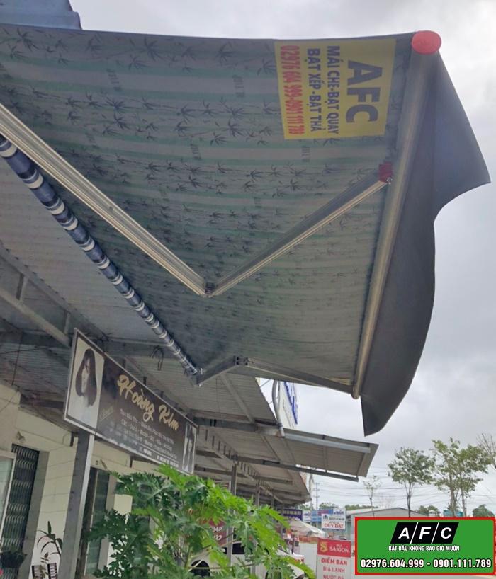 Thi công mái hiên di động- Mái quay di động tại Phú Quốc