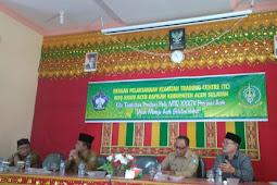 Siap Untuk Ikuti MTQ Aceh ke-34, Aceh Selatan Gelar Training Center di Tapaktuan