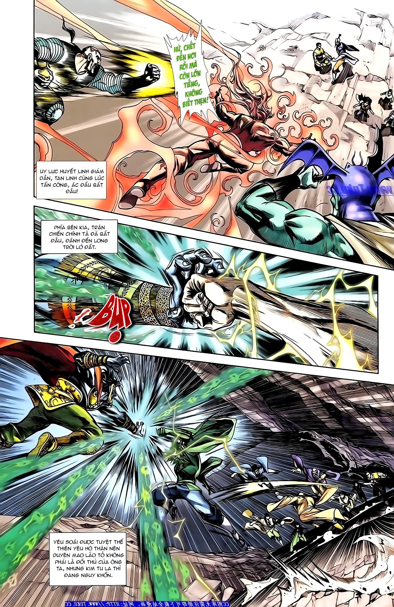 Cơ Phát Khai Chu Bản chapter 155 trang 7