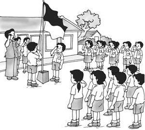 Panduan Lengkap dalam Membaca Teks Perangkat Upacara (Susunan Upacara Bendera, Teks Janji Siswa, Amanat Pembina Upacara, Teks Pembukaan UUD 1945)