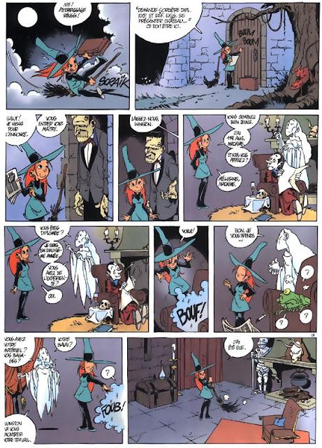 """Mélusine Tome 1 """"Sortilèges"""" page 3 chez Dupuis"""