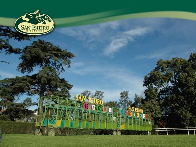 Hipódromo de San Isidro Partidores Gateras