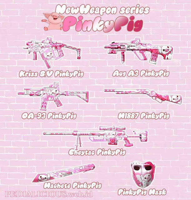 Pinky Pig Series Point Blank Indonesia