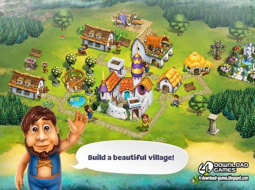 لعبة بناء القرية The Tribez Build a Village