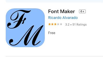 Aplikasi Font Maker
